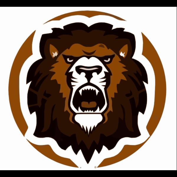 Brown Roaring Lion