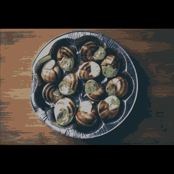 Gourmet Dish Escargot