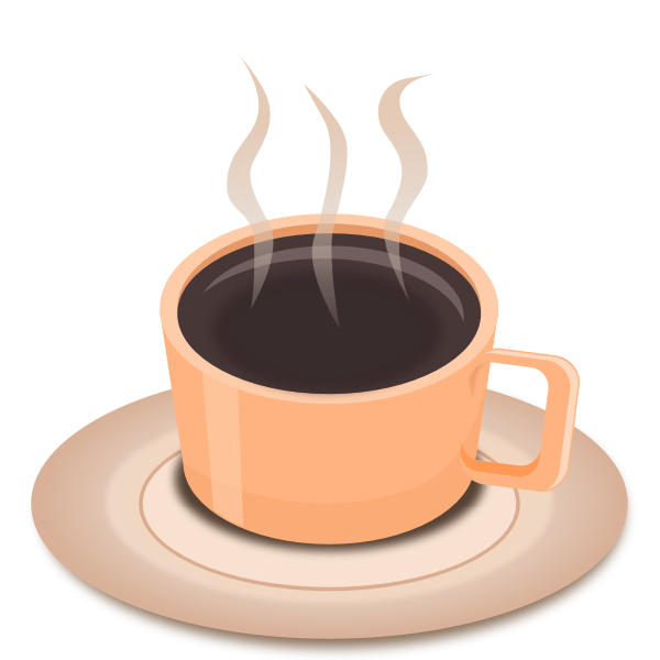 A hot cup of tea or coffee