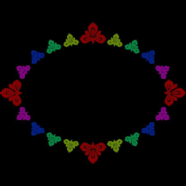 Elliptical frame 12 (colour)