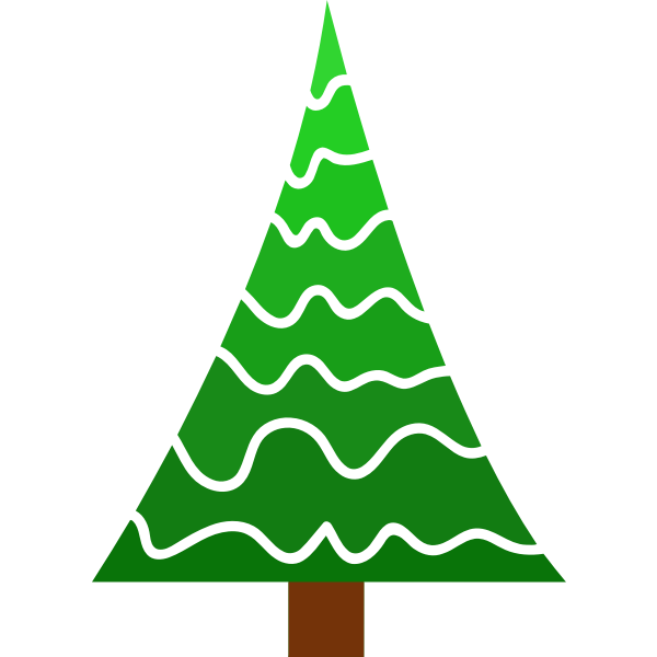 Simple Pine Tree Free Svg