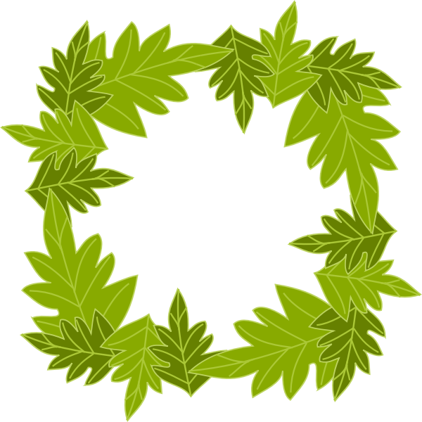 Leafy frame 31