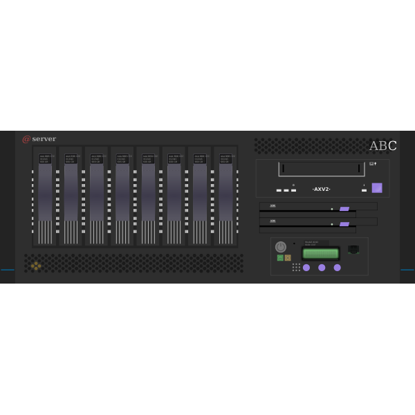 Network Server, 4HE, ABC, Miniature Mainframe