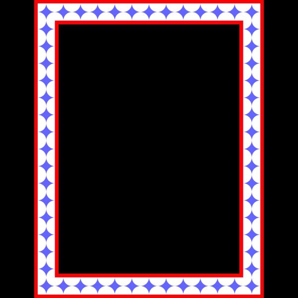Rectangular frame 16