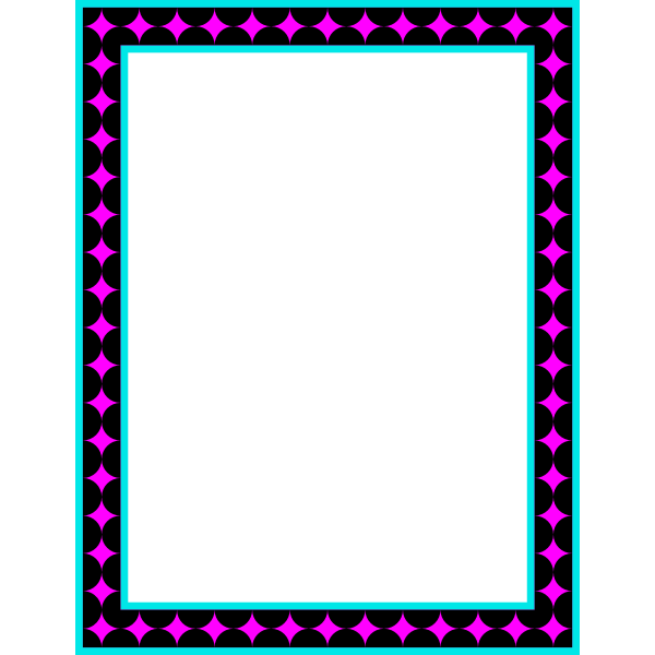 Rectangular frame 16 (colour 2)