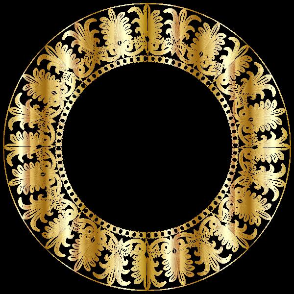 Gold Ionic Frieze Frame No BG