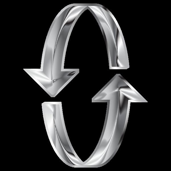 3D Steel Arrows