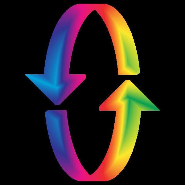 3D Prismatic Arrows
