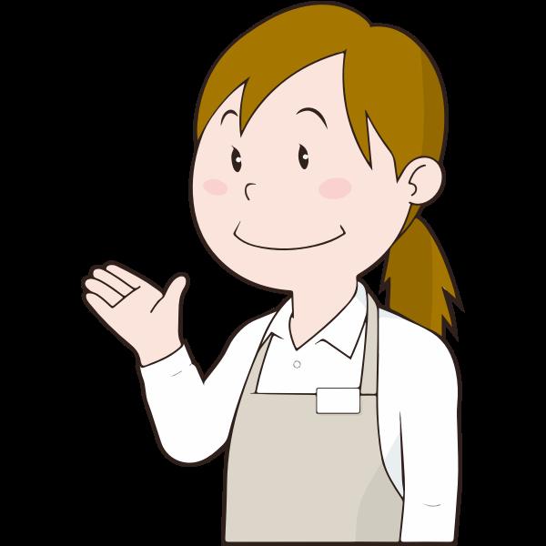 Female Store Clerk (#2)