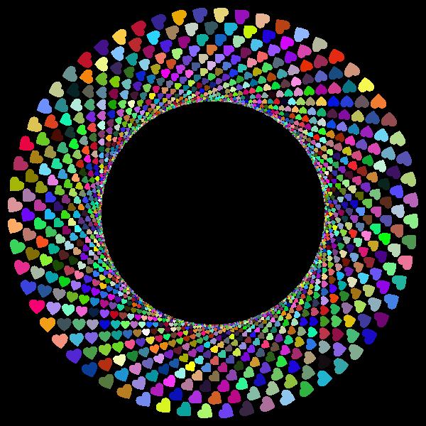 Hearts in a vortex
