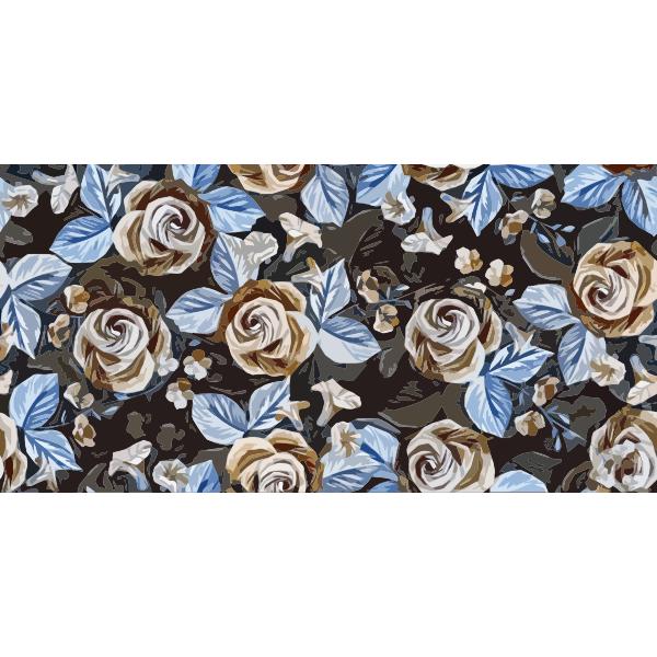 Floral Roses Background