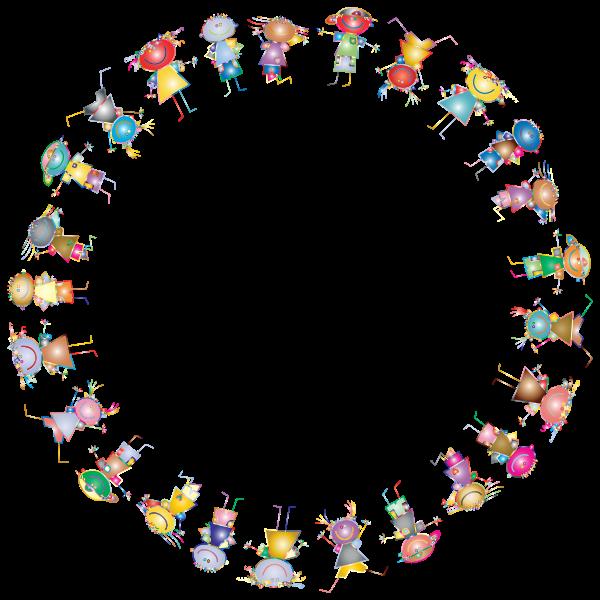 Kids Outline Frame Prismatic 2