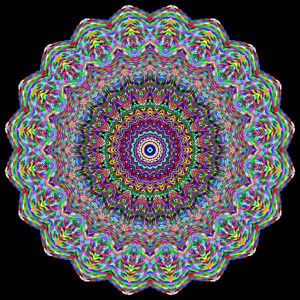 Prismatic Lace Mandala No BG