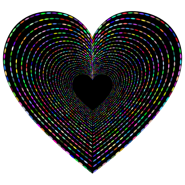 Simple Heart Tunnel Prismatic