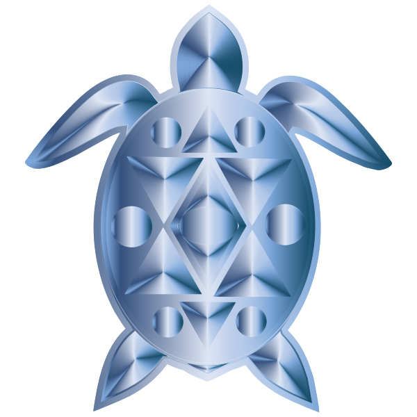 Sea Turtle Aquamarine
