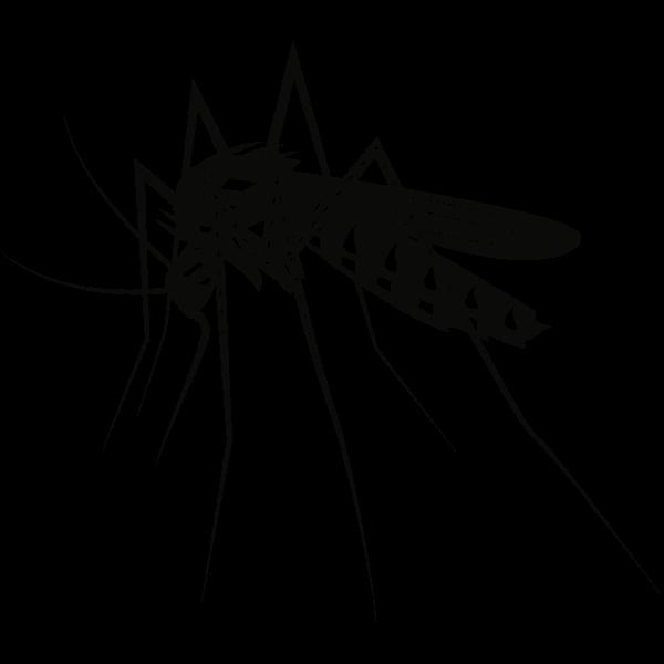 Mosquito silhouette (#1)