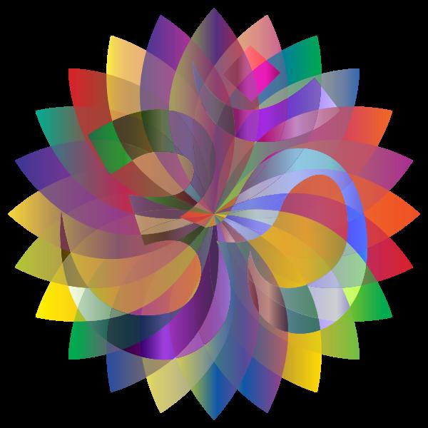 Om Petals Mandala