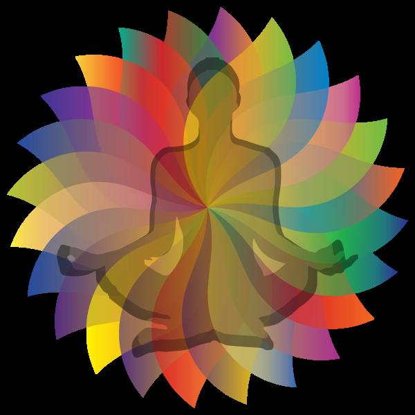 Yoga Petals Mandala
