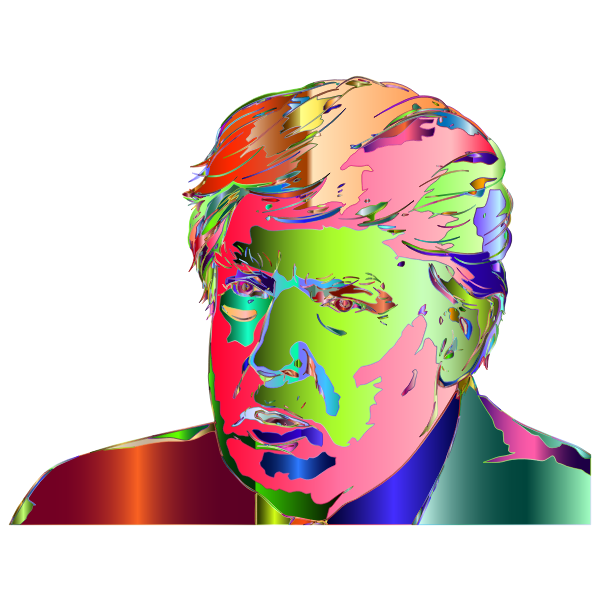 Donald Trump Portrait 3 Surreal 4