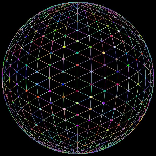 Network Sphere Prismatic