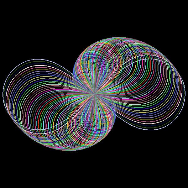 Prismatic Abstract Line Art Design