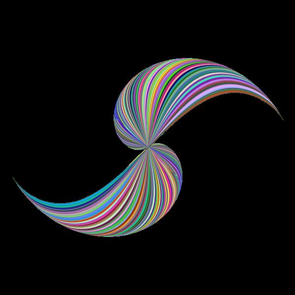 Prismatic Abstract Line Art Design 3