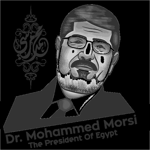 President Of Egypt, B&W