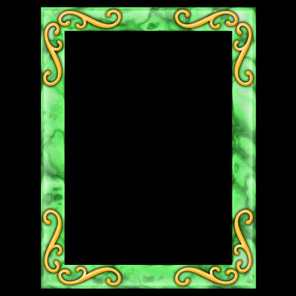 Rectangular frame 19
