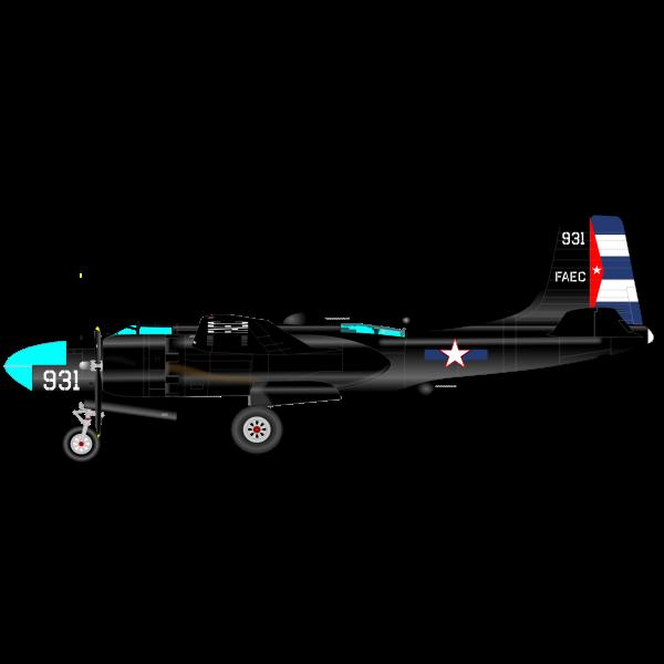 B-26 MARAUDER CUBA
