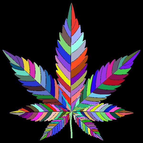 Marijuana Leaf Type II Prismatic