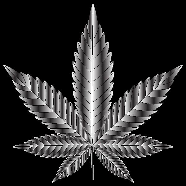 Marijuana Leaf Type Ii Duochrome Free Svg