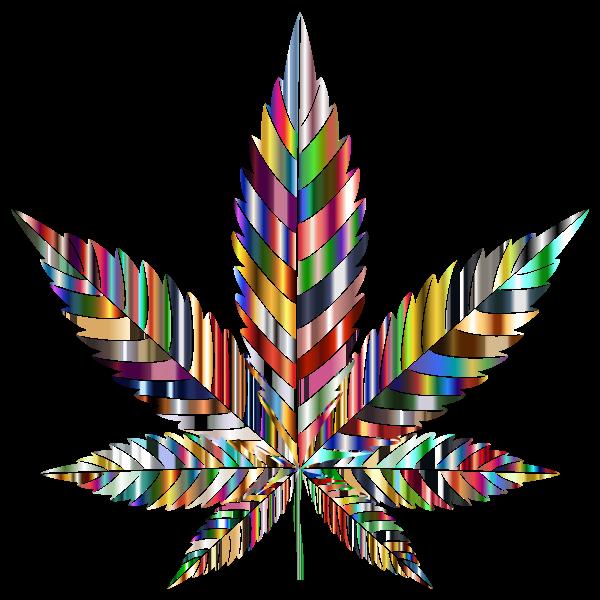 Marijuana Leaf Type II Psychedelic