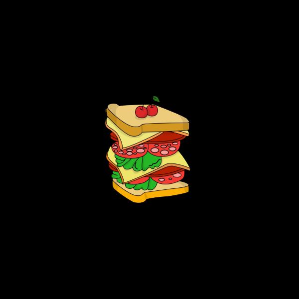 Huge Triple Sandwich!