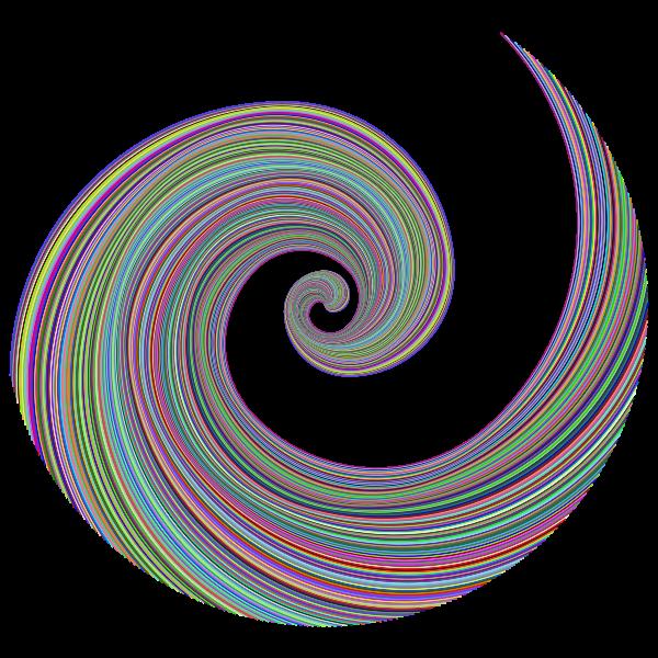 Golden Ratio Spiral Design   Free SVG