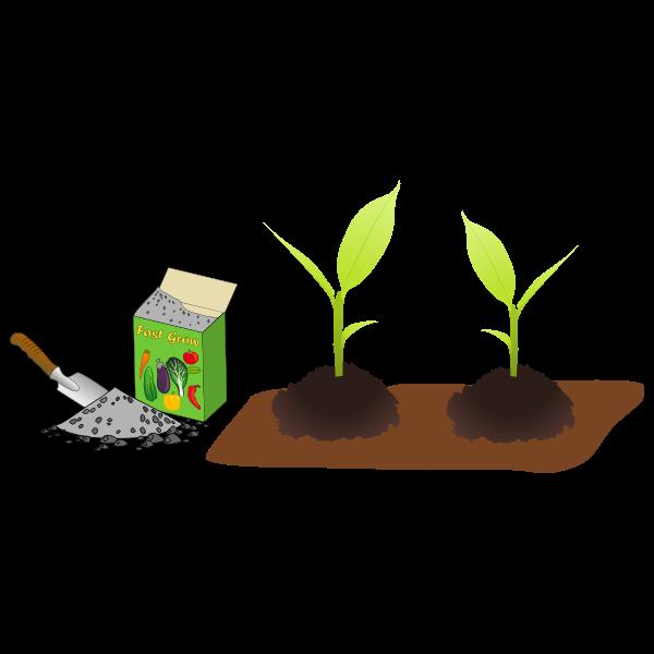 horticultural (garden) fertilizer