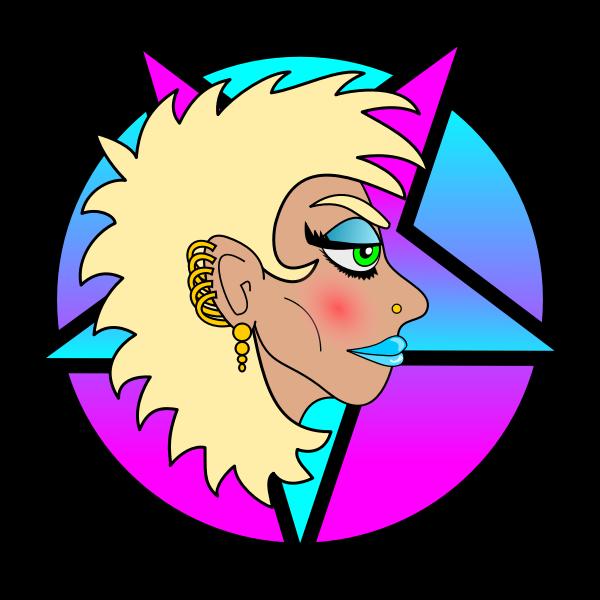 Heavy Metal Girl - Blonde