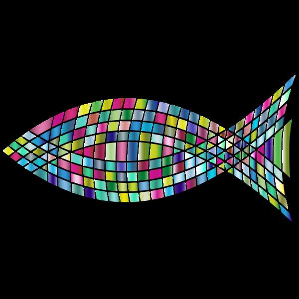 Tiled Fish Prismatic 2