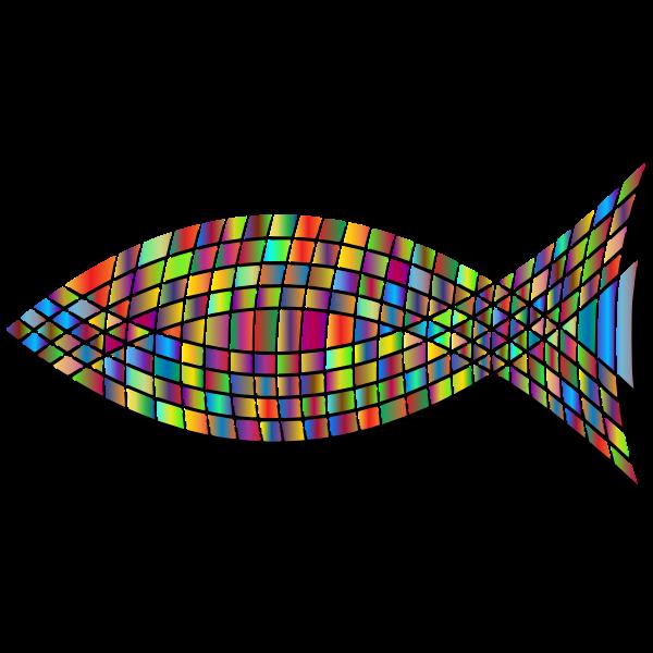 Tiled Fish Prismatic 3