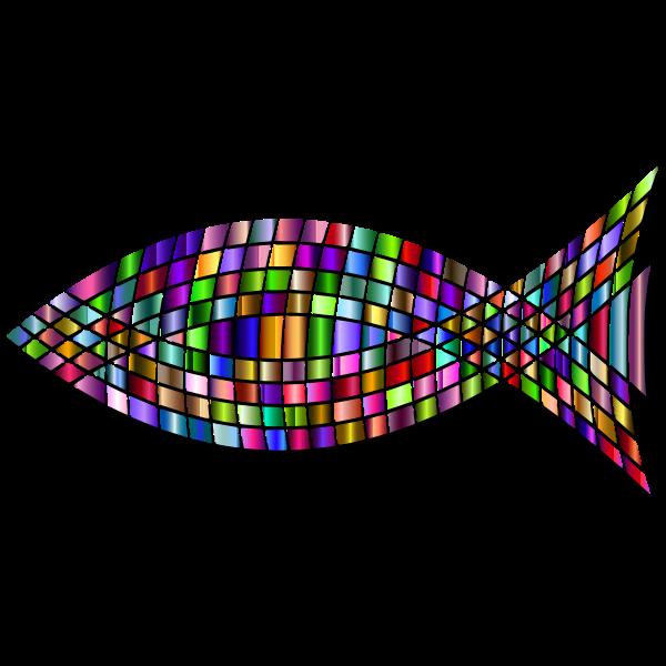 Tiled Fish Prismatic 4