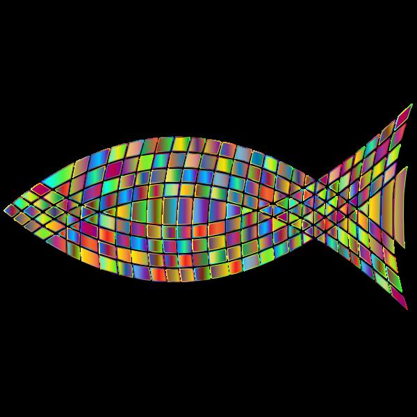 Tiled Fish Prismatic 6
