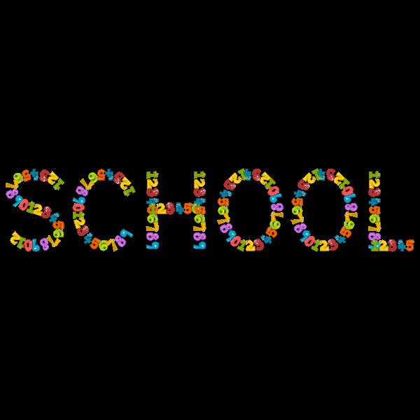 School typography