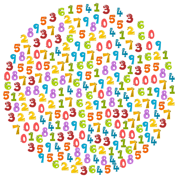 Animal numbers in a circle