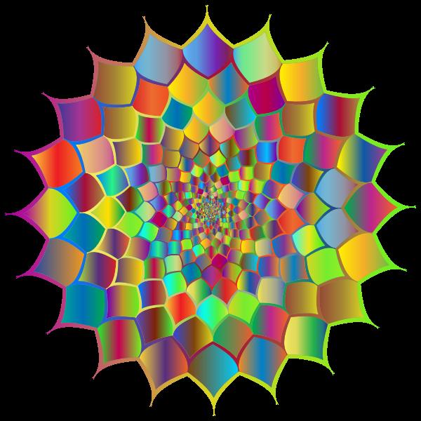 Abstract Vortex 78 Prismatic No BG