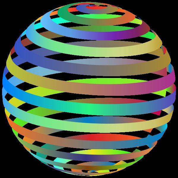 3D Spiral Sphere