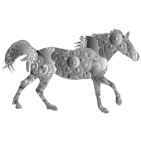 Decorated Horse Duochrome