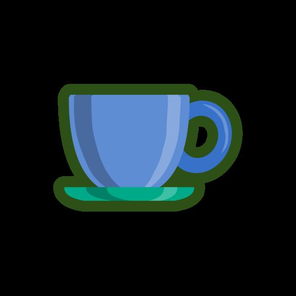 Tea service - cup