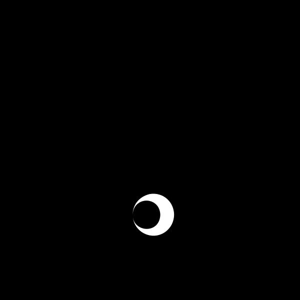 Stylized Yin Yang Symbol