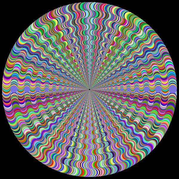 Psychedelic Round Vortex