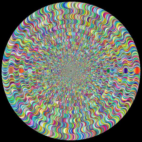 Psychedelic Round Vortex 2