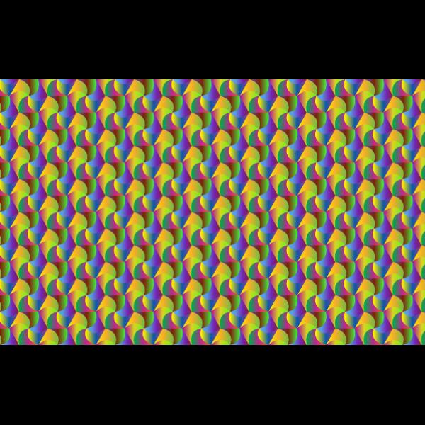 Hexagonal Polypristmatic Pattern